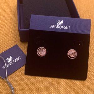 Brand New Gorgeous Rosegold Swarovski Earrings